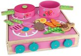 Stephen Joseph Butterfly Wooden Play Cook Set
