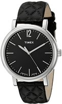 Timex Women's TW2P71100AB Heritage Collection Analog Display Quartz Black Watch