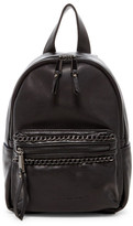 French Connection Alexa Mini Faux Leather Backpack