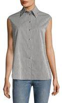 Helmut Lang Striped Cotton Shirt