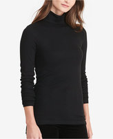 Lauren Ralph Lauren Ribbed Jersey Turtleneck