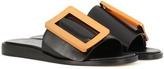 Boyy Leather slip-on sandals