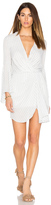 Shona Joy Adeline Draped Mini Dress