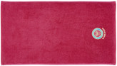 Wimbledon 2016 - Embroidered Guest Towel - Shocking Pink