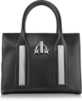 DSQUARED2 Twin Peaks Black Leather Tote Bag
