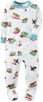 Carter's Toddler Boy Print Footed Pajamas