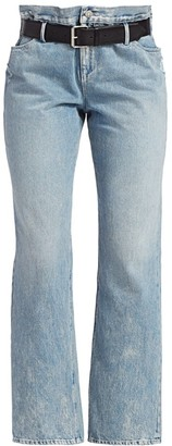RtA Dexter 2-in-1 Cropped Bootcut Jeans