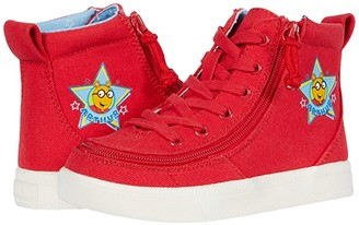 Billy Footwear Kids BILLY Footwear Kids Classic Lace High Arthur Star (Toddler) (Red) Kid's Shoes