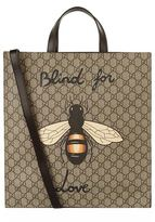 Gucci Bee Blind Logo Tote