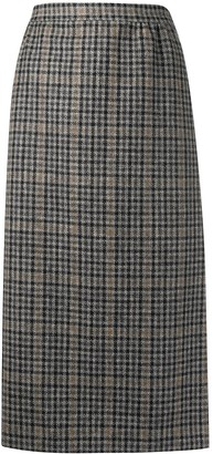 Maison Margiela High Waist Check Skirt