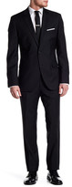 HUGO BOSS Black Grand/Central Two Button Notch Lapel Wool Suit