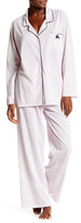 Laura Ashley Notch Collar PJ Set (Plus Size)