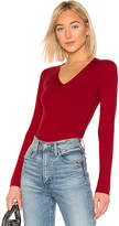 Theory Low V Neck Sweater