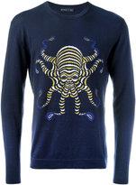 Etro octopus motif sweatshirt - men - Cotton/Cashmere - L