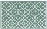 Waverly Fancy Free and Easy Lovely Lattice Teal Area Rug by Nourison (1'10 x 4'6)