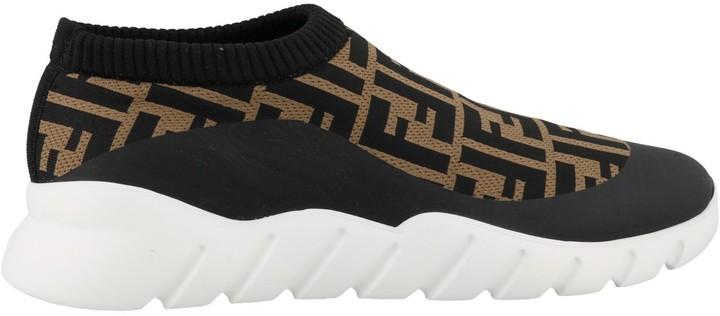 Fendi FF sock sneakers - ShopStyle
