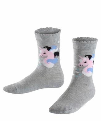 Falke Girl's Shiny Unicorn Calf Socks