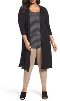 Sejour Plus Size Women's Duster Cardigan