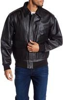 Rogue Men's Leather Flight Jacket