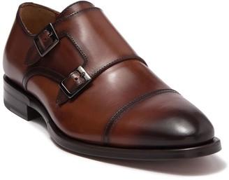Antonio Maurizi Cap Toe Double Monk Strap Dress Shoe