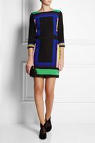 Diane von Furstenberg Avery printed silk mini dress