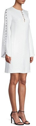 Michael Kors Scallop Sleeve Shift Dress