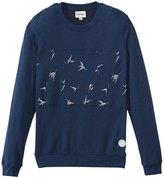 rhythm Men's Blue Gum Pullover Sweater 8139077