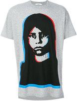 Givenchy face T-shirt