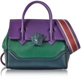 Versace Palazzo Empire Color Block Medusa Satchel Bag