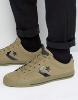 Converse Star Player Sneaker In Green 153752c