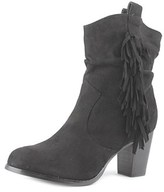 Wanted Memphis Women Round Toe Canvas Mid Calf Boot.