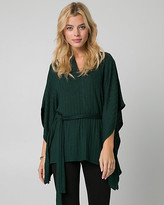 Le Château Rib Jersey V-Neck Poncho Top
