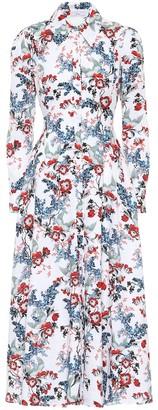 Erdem Yolande linen dress