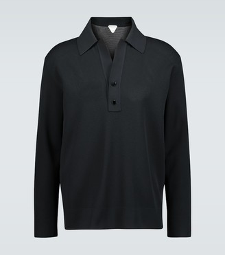 Bottega Veneta Double pique polo shirt