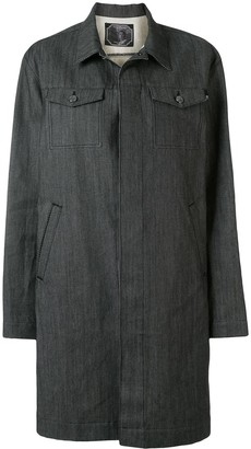 Undercover Single-Breasted Denim Coat