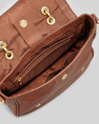 Marc by Marc Jacobs Too Hot To Handle Small Flap-Top Bag, Brown