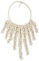"""Carolee Faux Pearl Collar Necklace, 16"""""""