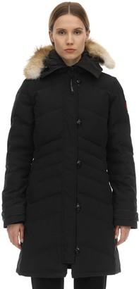 Canada Goose Lorette Down Parka W/ Fur Trim
