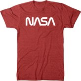 Trunk Candy Men's Vintage NASA Worm Logo Premium Tri-Blend T-Shirt
