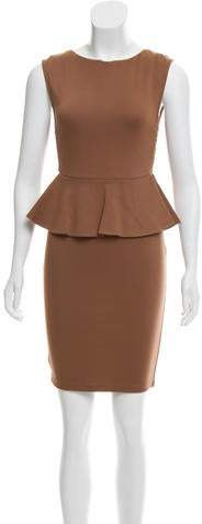Alice + Olivia Mini Peplum Dress w/ Tags