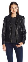 Cole Haan Women's Signature Faux Leather Jacket