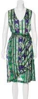 Dries Van Noten Silk Midi Dress w/ Tags
