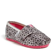 Toms 'Classic Tiny - Moroccan Alpargata' Slip-On (Baby, Walker & Toddler)