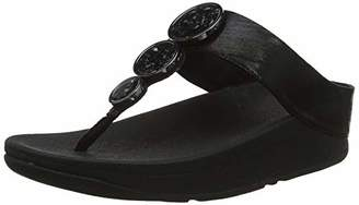 FitFlop Women's Halo Shimmer Toe-Thongs Open Sandals,36 EU