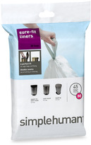 Simplehuman Code M Custom Fit 45-Liter Can Liners (20-Pack)