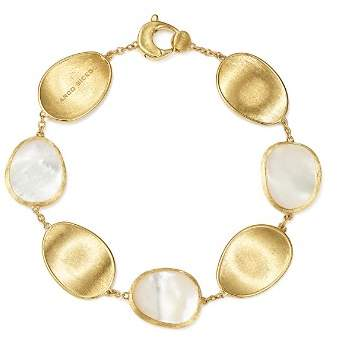 Marco Bicego 18K Yellow Gold Lunaria Mother-of-Pearl Bracelet