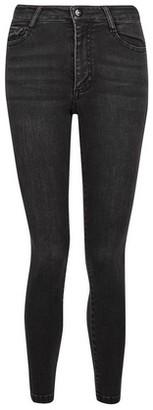 Dorothy Perkins Womens Petite Black 'Alex' Authentic Skinny Jeans, Black