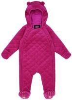 Juicy Couture Baby Logo Velour Juicy Script Quilted Snowsuit