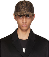Dolce & Gabbana Brown Brocade Cap