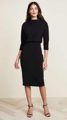 Badgley Mischka Long Sleeve Dress